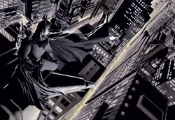Batman: Knight Over Gotham (Box Canvas Deluxe) by DC - Box Canvas Deluxe sized 38x26 inches. Available from Whitewall Galleries