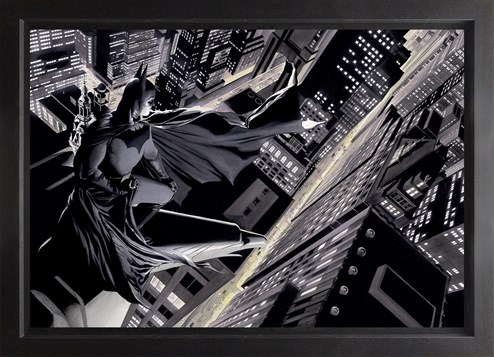 Batman: Knight Over Gotham (Box Canvas Deluxe) by DC - Framed Box Canvas Deluxe
